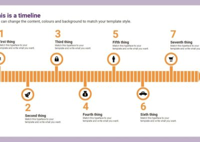 Arrow Timeline. Infografía gratuita descargable