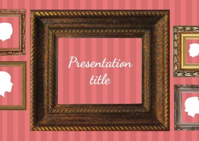 Frames. Free Power point template, Google Slides theme and Keynote