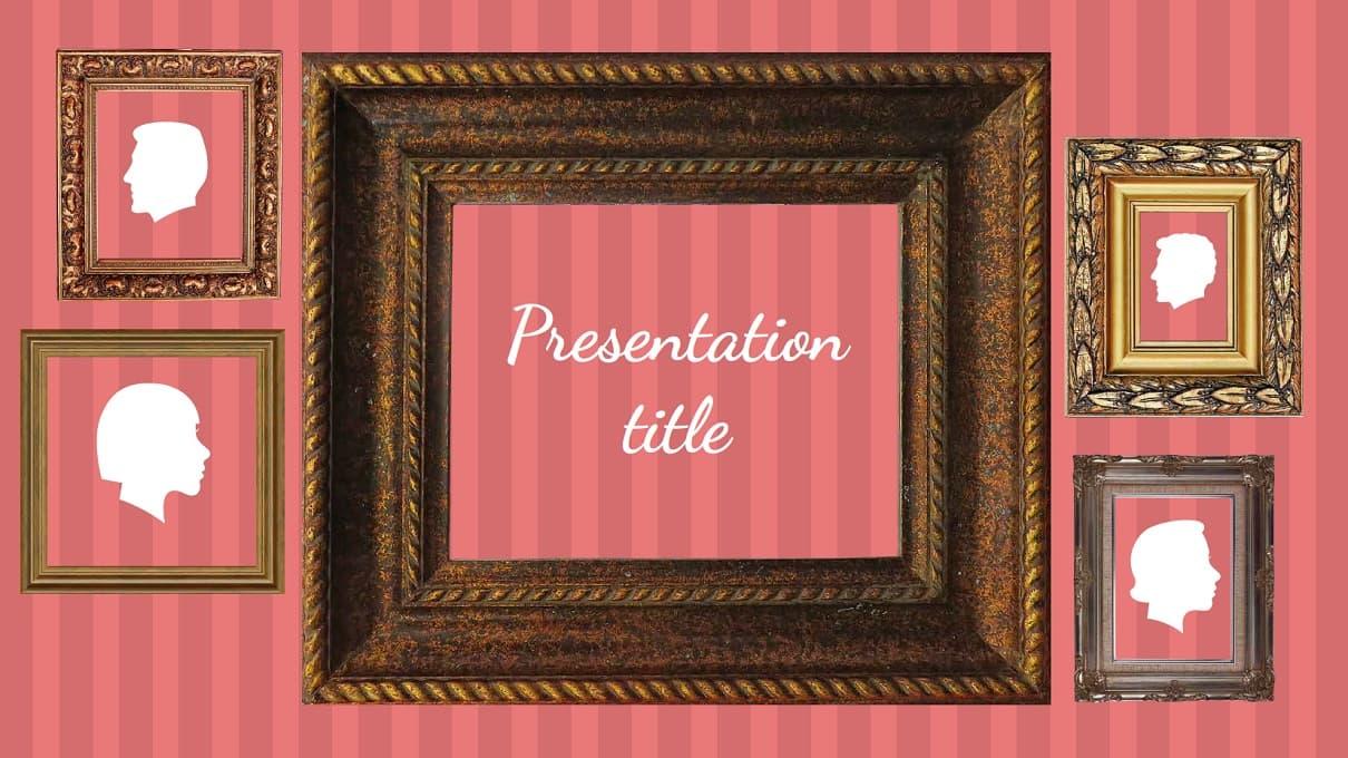 Frames Free Template slidesforeducation