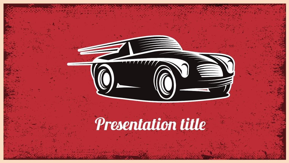 LGG Car transport Free Template slidesforeducation