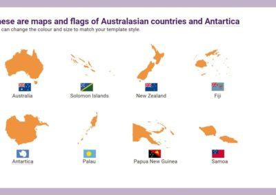 Australasia Antartica. Free downloadable icons