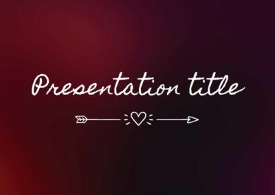 Blur. Free Power point template, Google Slides and Keynote theme