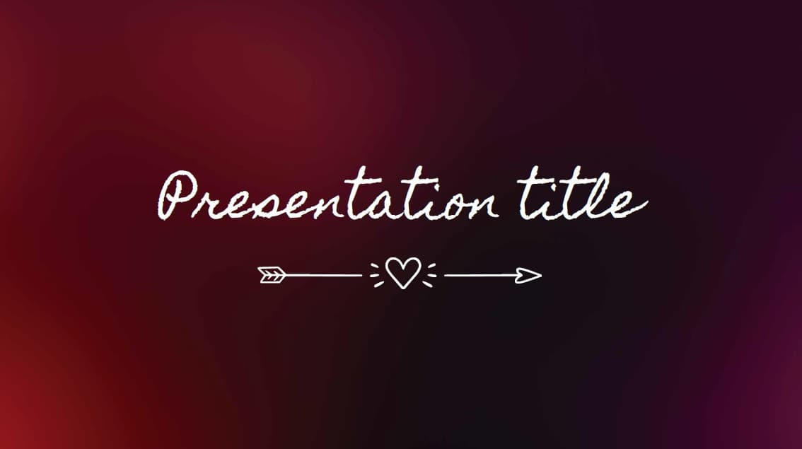 Blur slidesforeducation template