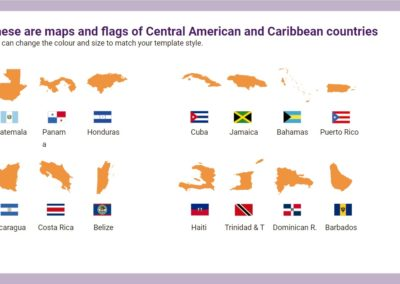 Central America. Free downloadable icons