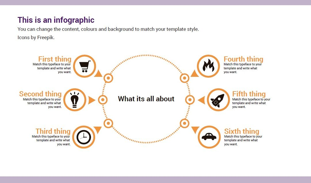 Circle. Free downloadable infographic