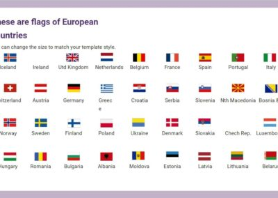 European Flags. Free downloadable icons