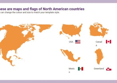 North America. Free downloadable icons