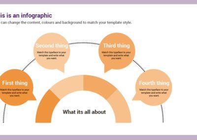 Semicircle. Infografía gratuita descargable