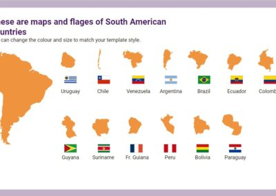 South America. Free downloadable icons