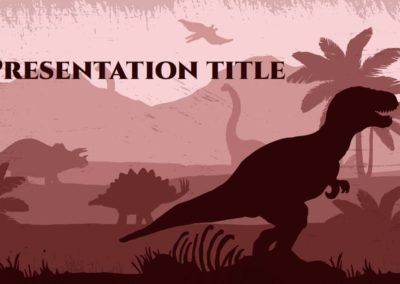Lost World. Free Power point template, Google Slides and Keynote theme