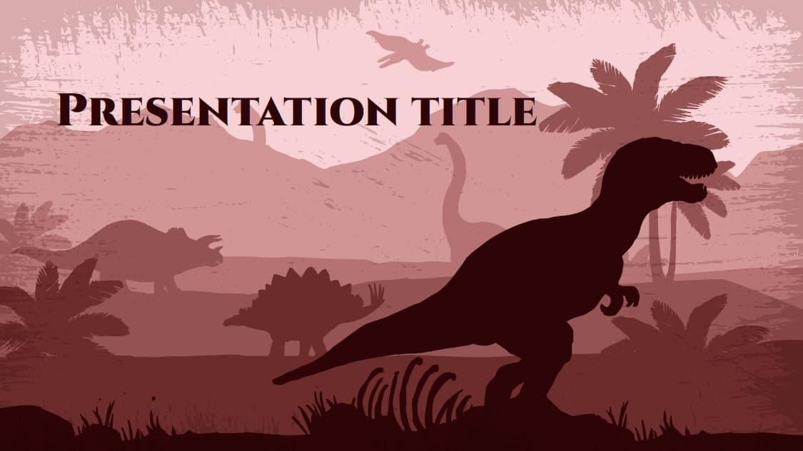 Lost World slidesforeducation template