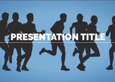Sport. Free Power point template, Google Slides and Keynote theme