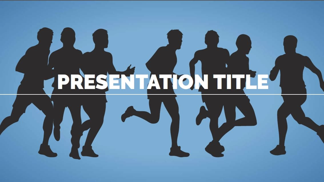 Sport Infographic slidesforeducation