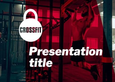 Crossfit. Free Power point template, Google Slides and Keynote theme