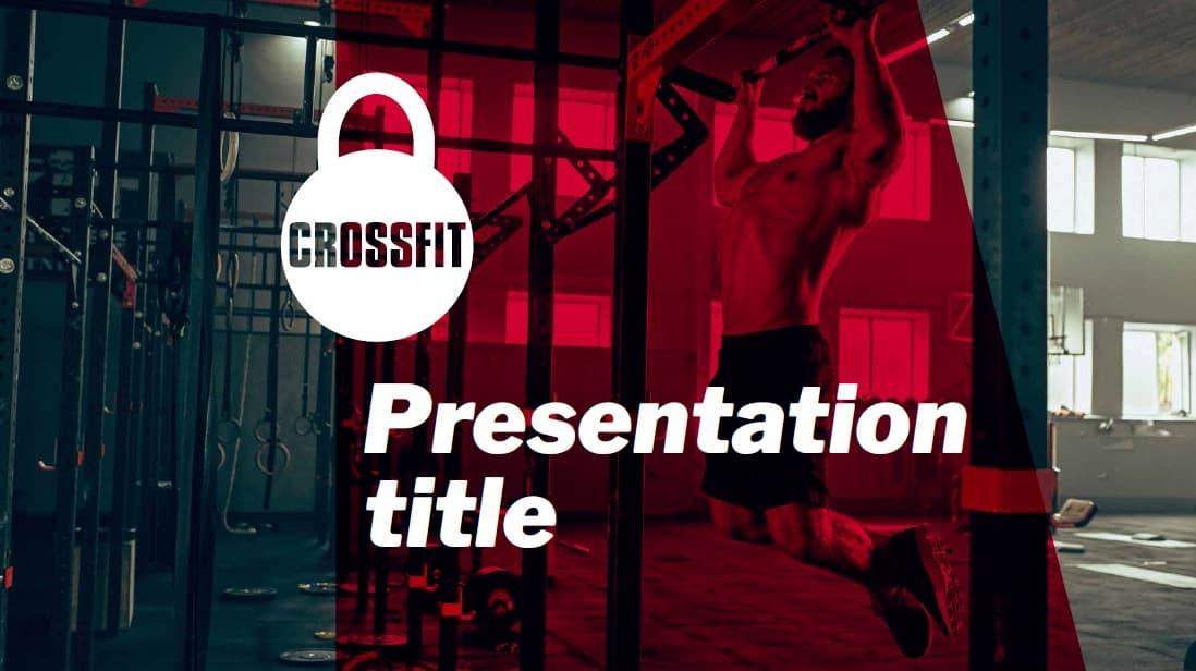 Crossfit slidesforeducation template