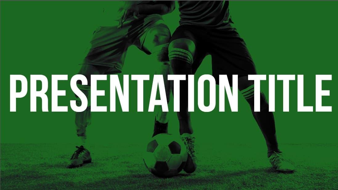 Football slidesforeducation template