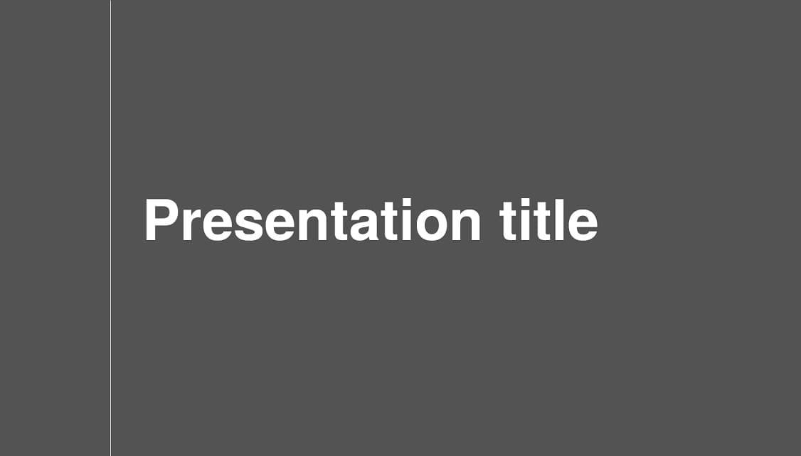 Serious slidesforeducation template