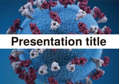 Virus. Free Power point template, Google Slides and Keynote theme