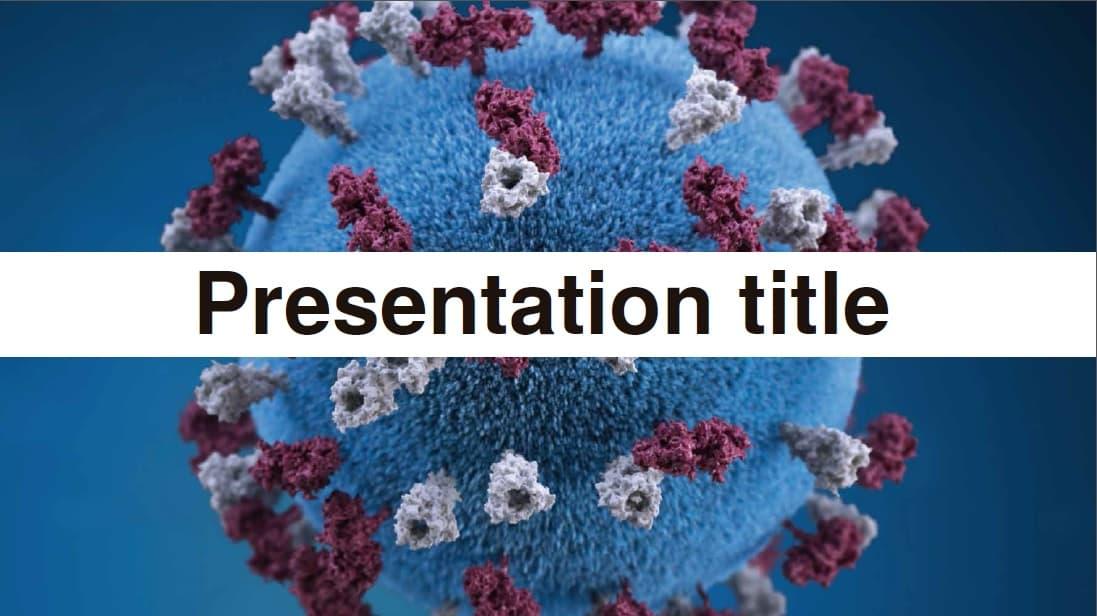 Virus slidesforeducation template
