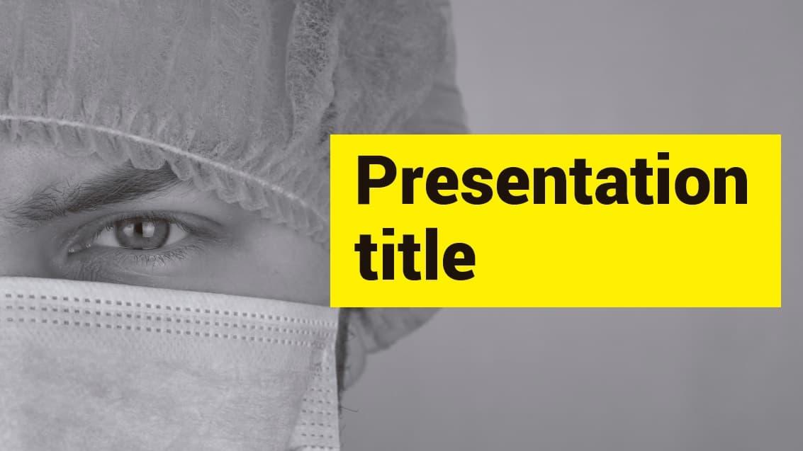 Medicine slidesforeducation template
