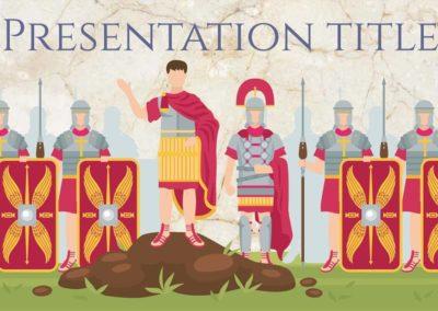 Ancient Rome. Plantilla Power point Gratis, tema Google Slides y Keynote