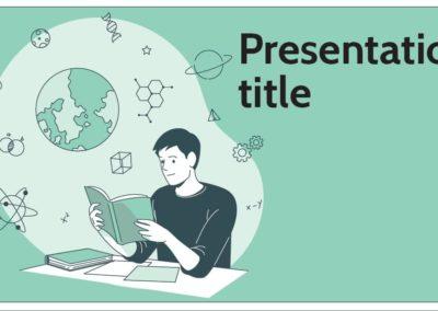 Students. Plantilla Power point Gratis, tema Google Slides y Keynote
