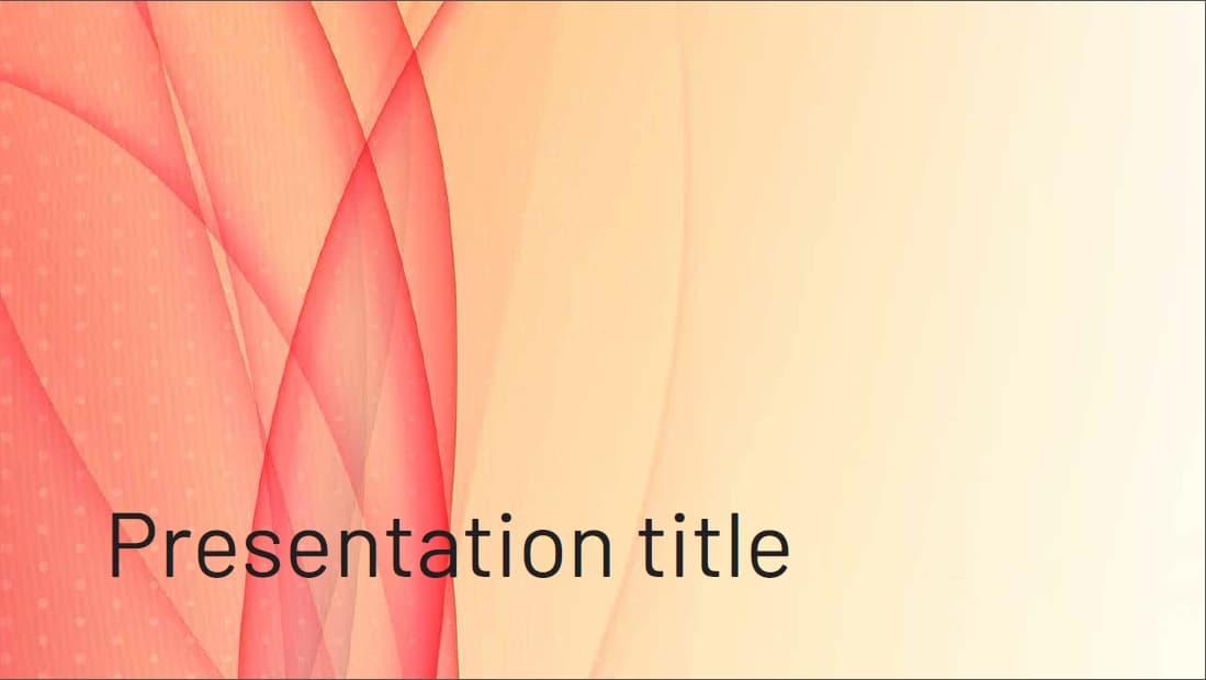 Waves slidesforeducation template