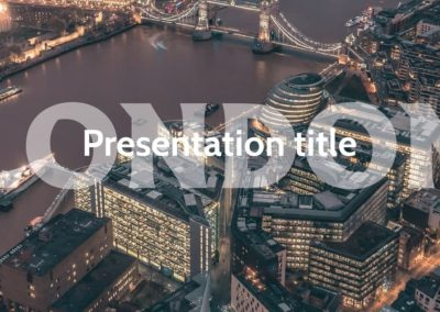 London. Free Power Point Template, Google Slides and Keynote theme
